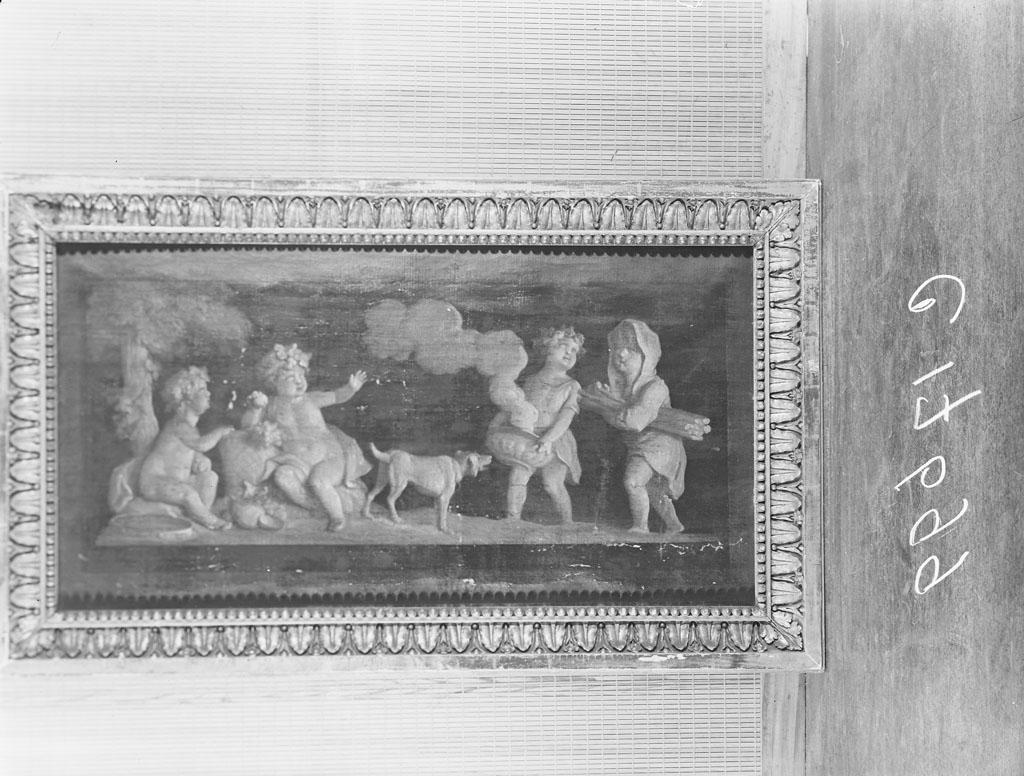 Allegorie op herfst en winter behorende bij de zaal uit de Keizersgracht 313
